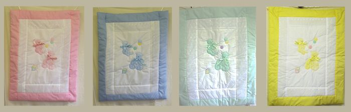 Cot Quilt with motif of your choice