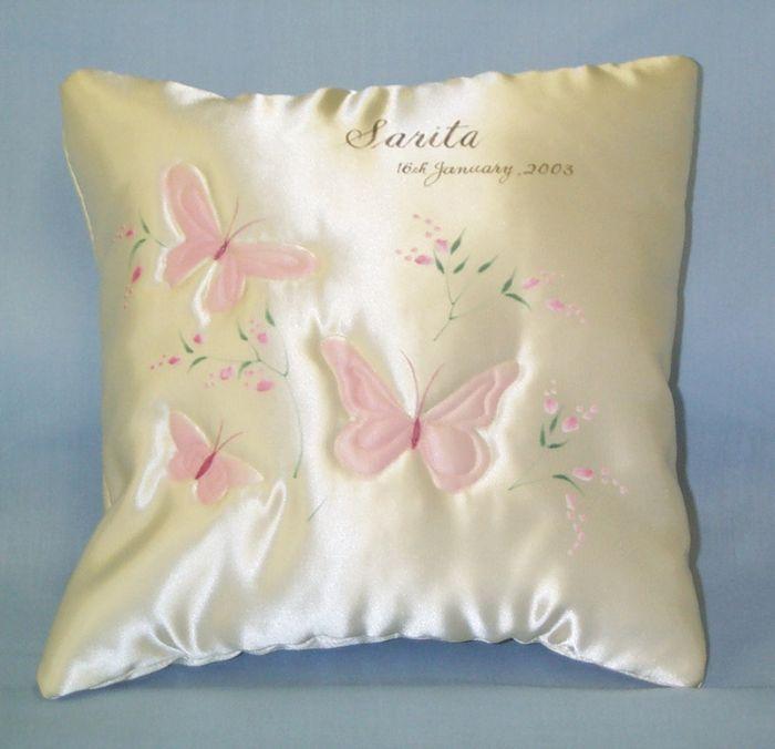Babies Satin Comfort Cushion | Baby Gifts | Jean Robson